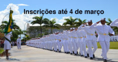 Seletivo Marinha: 62 vagas no RS e SC