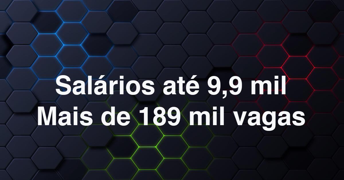 Confira: 13 concursos nacionais com 189,5 mil vagas abertas