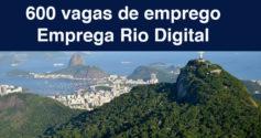 Rio de Janeiro tem 600 vagas de trabalho