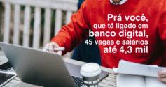 SE tem 45 vagas para níveis Médio e Superior e salários até 4,3 mil
