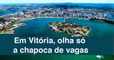 Vitória oferece 68 vagas para todos os níveis