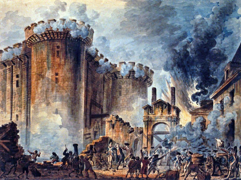 A Tomada da Bastilha - Revolução Francesa