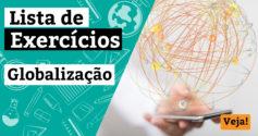 Exercícios sobre globalização