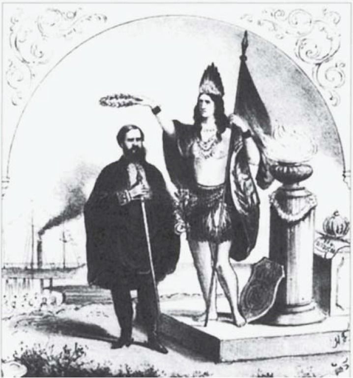 Xilogravura - Segundo Reinado