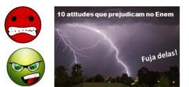 10 atitudes que desperdiçam tempo de estudo para o Enem. Veja como fugir delas e mudar sua agenda.