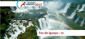 Foz do Iguaçu – Resultado Enem 2013: Desempenho das escolas