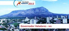 Governador Valadares – Resultado Enem 2013: Desempenho das escolas