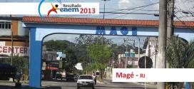 Magé – Resultado Enem 2013: Desempenho das escolas