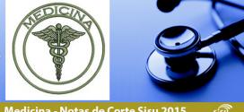 Notas de Corte Medicina no Sisu 2015, 2014 e 2013. Confira!