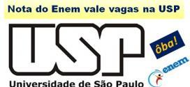Nota do Enem agora vale na Universidade de São Paulo. Medicina ficou de fora, mas Direito entrou.