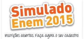 Simulado Enem 2015 QMágico Pravaler. Inscrições gratuitas abertas. Teste seus conhecimentos para o Enem. Provas online.