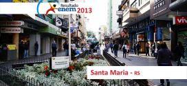 Santa Maria – Resultado Enem 2013: Desempenho das escolas