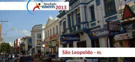 São Leopoldo – Resultado Enem 2013: Desempenho das escolas