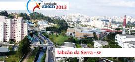 Taboão da Serra – Resultado Enem 2013: Desempenho das escolas